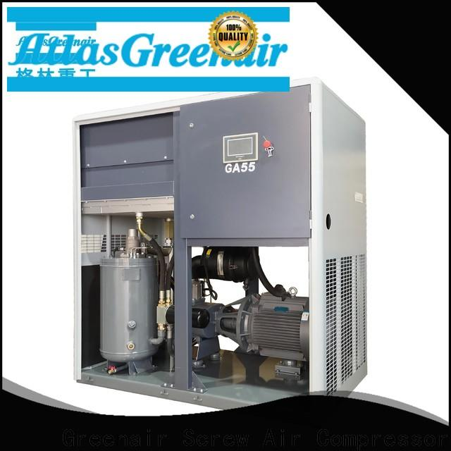 fixed atlas copco screw compressor with an oil content for sale