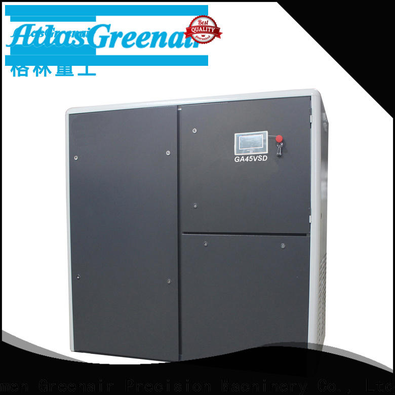 Atlas Greenair Screw Air Compressor custom variable speed air compressor company for tropical area