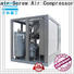 Atlas Greenair Screw Air Compressor two stage variable speed air compressor manufacturer customization