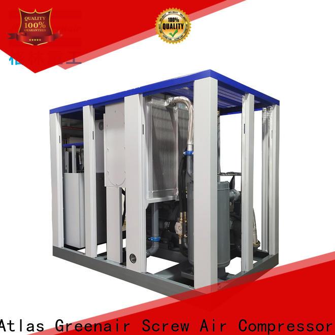 Atlas Greenair Screw Air Compressor high quality vsd compressor atlas copco with an asynchronous motor customization