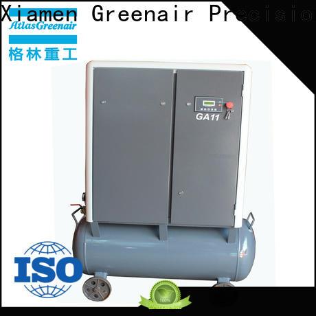 Atlas Greenair Screw Air Compressor top fixed speed rotary screw air compressor manufacturer for sale