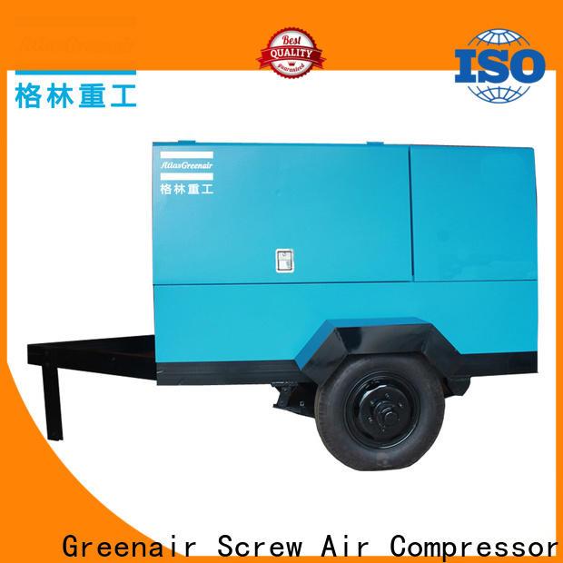 Atlas Greenair Screw Air Compressor high quality portable screw compressor with intelligent control system for sale