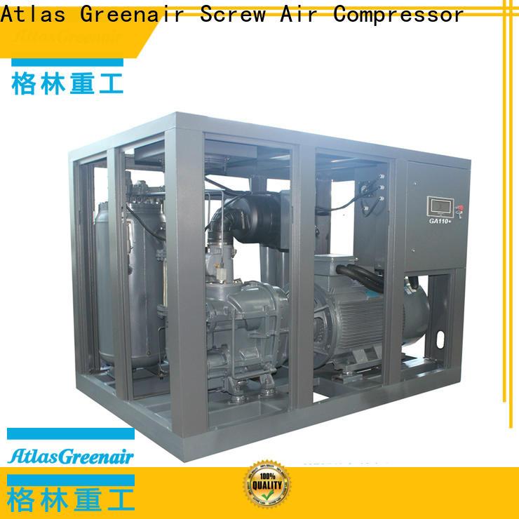 Atlas Greenair Screw Air Compressor top fixed speed rotary screw air compressor company for sale