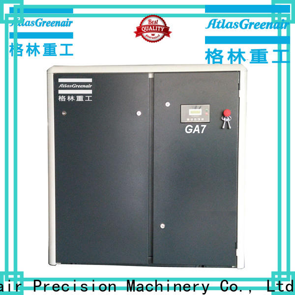 Atlas Greenair Screw Air Compressor atlas copco screw compressor company for tropical area