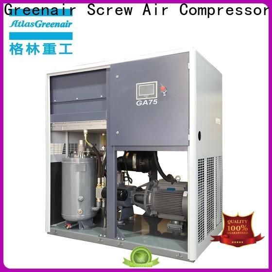 Atlas Greenair Screw Air Compressor atlas copco screw compressor company wholesale
