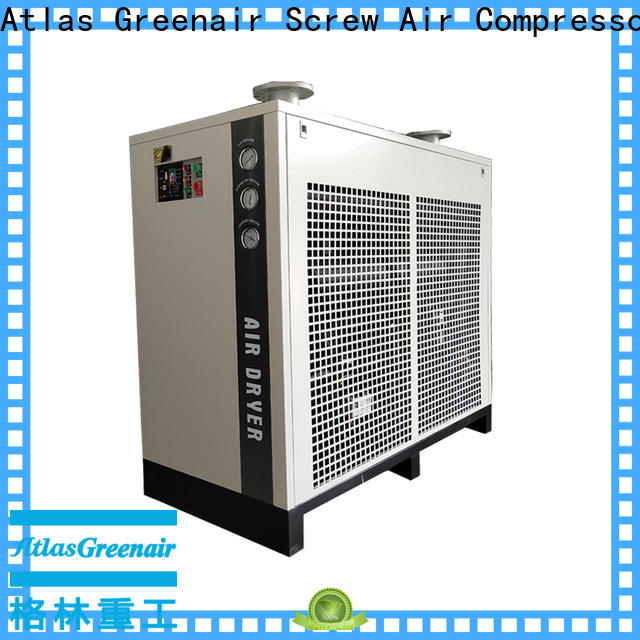 Atlas Greenair Screw Air Compressor refrigerated air dryer thick copper pipe for tropical area