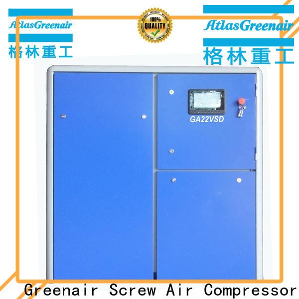 Atlas Greenair Screw Air Compressor best vsd compressor atlas copco with an asynchronous motor customization