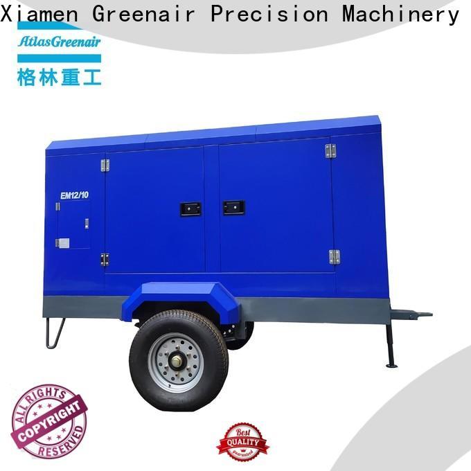Atlas Greenair Screw Air Compressor portable screw compressor company for sale