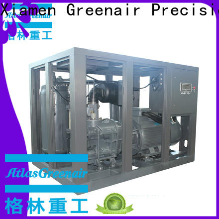 high quality fixed speed rotary screw air compressor for busniess for tropical area