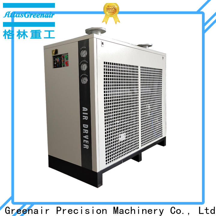 Atlas Greenair Screw Air Compressor top air dryer for compressor for busniess for sale