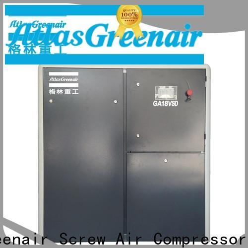 Atlas Greenair Screw Air Compressor cheap vsd compressor atlas copco factory for sale