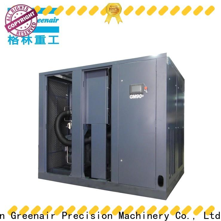 Atlas Greenair Screw Air Compressor best variable speed air compressor factory customization