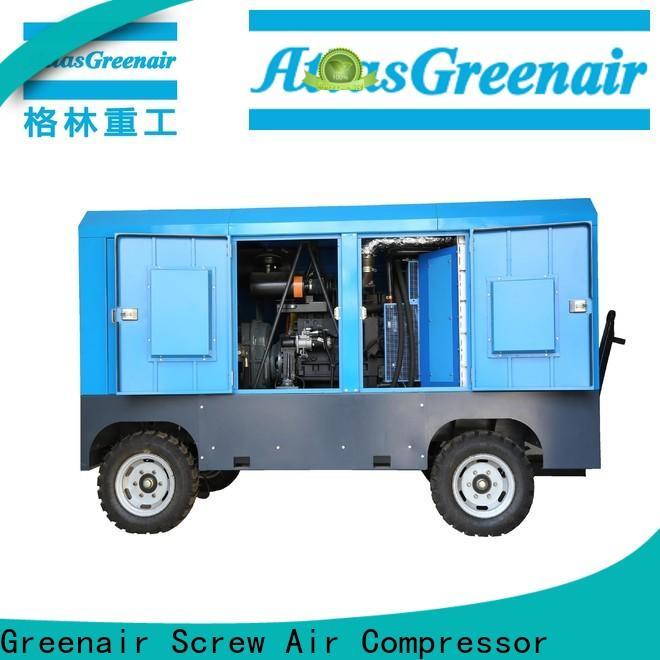 Atlas Greenair Screw Air Compressor mobile air compressor for busniess for sale