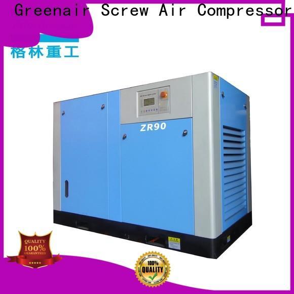 Atlas Greenair Screw Air Compressor wholesale oil free rotary screw air compressor factory for tropical area