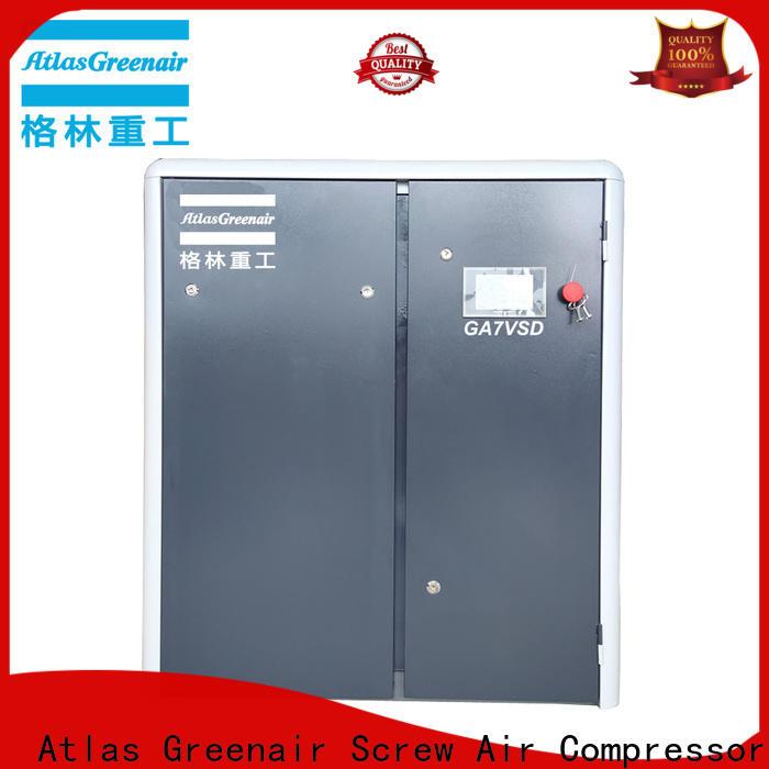 Atlas Greenair Screw Air Compressor latest variable speed air compressor company for tropical area