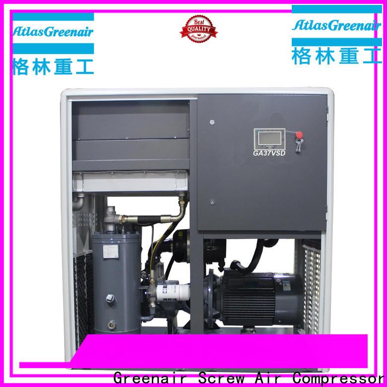 Atlas Greenair Screw Air Compressor custom variable speed air compressor factory for tropical area