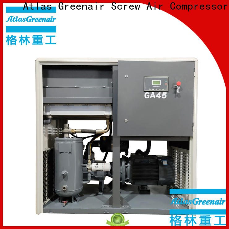 fixed fixed speed rotary screw air compressor manufacturer for sale