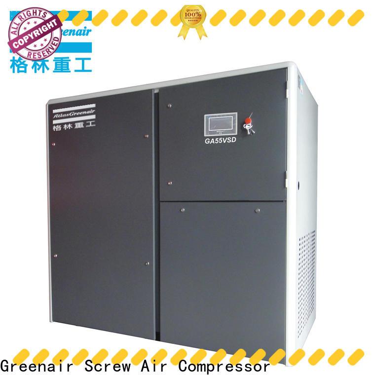Atlas Greenair Screw Air Compressor wholesale vsd compressor atlas copco manufacturer for tropical area