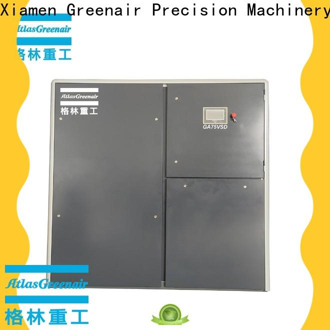 Atlas Greenair Screw Air Compressor new variable speed air compressor factory for sale