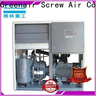 Atlas Greenair Screw Air Compressor best variable speed air compressor supplier customization