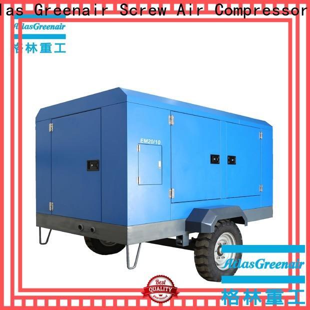 Atlas Greenair Screw Air Compressor electric rotary screw air compressor for busniess for tropical area