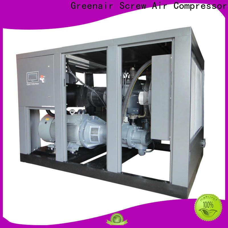 Atlas Greenair Screw Air Compressor vsd compressor atlas copco for busniess for tropical area