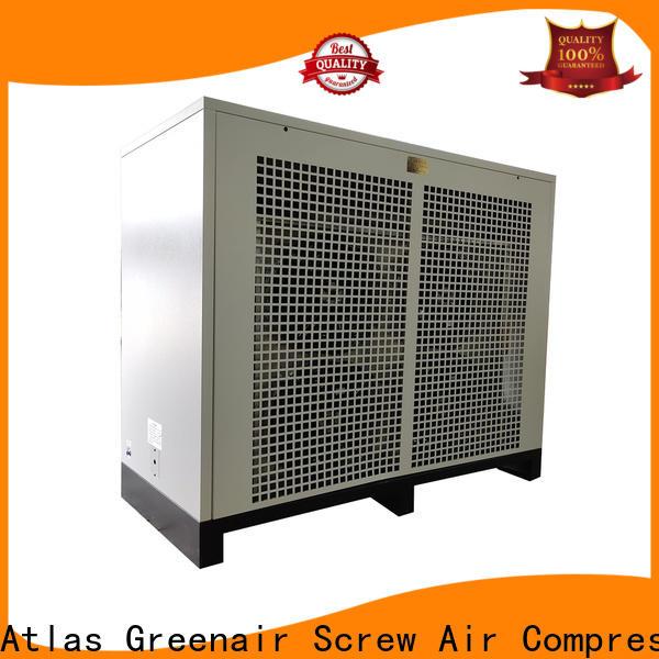 Atlas Greenair Screw Air Compressor air dryer for compressor company for tropical area