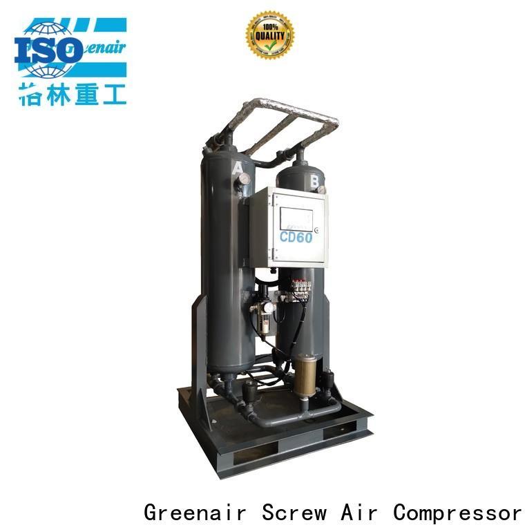 Atlas Greenair Screw Air Compressor new desiccant dryer for busniess for tropical area
