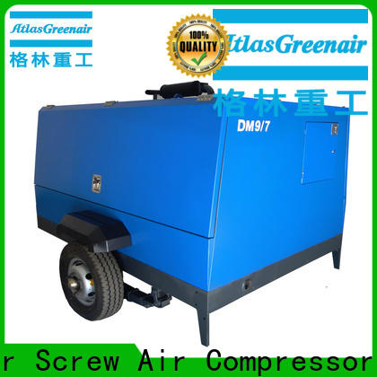 Atlas Greenair Screw Air Compressor mobile air compressor supplier for sale