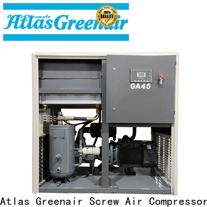 Atlas Greenair Screw Air Compressor new atlas copco screw compressor factory for sale