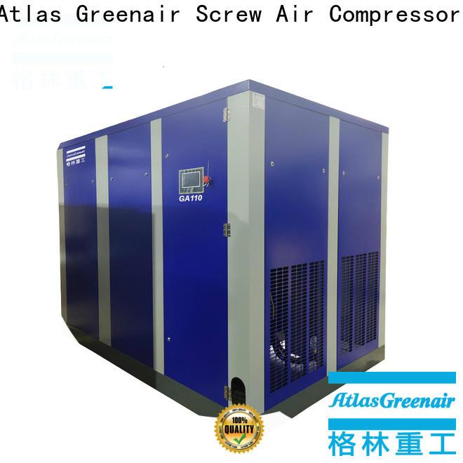 Atlas Greenair Screw Air Compressor atlas copco screw compressor with an oil content for tropical area