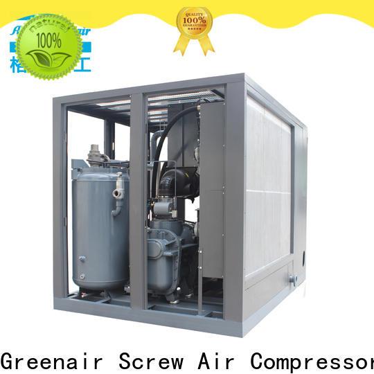 Atlas Greenair Screw Air Compressor variable speed air compressor with an asynchronous motor customization