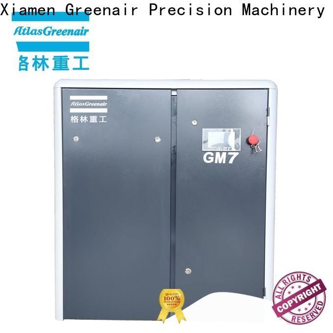 Atlas Greenair Screw Air Compressor custom variable speed air compressor with an asynchronous motor customization