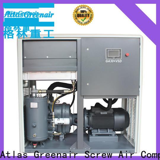 Atlas Greenair Screw Air Compressor best vsd compressor atlas copco with a single air compressor for tropical area