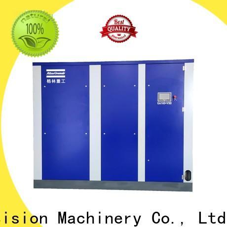 Atlas Greenair Screw Air Compressor two stage variable speed air compressor supplier customization
