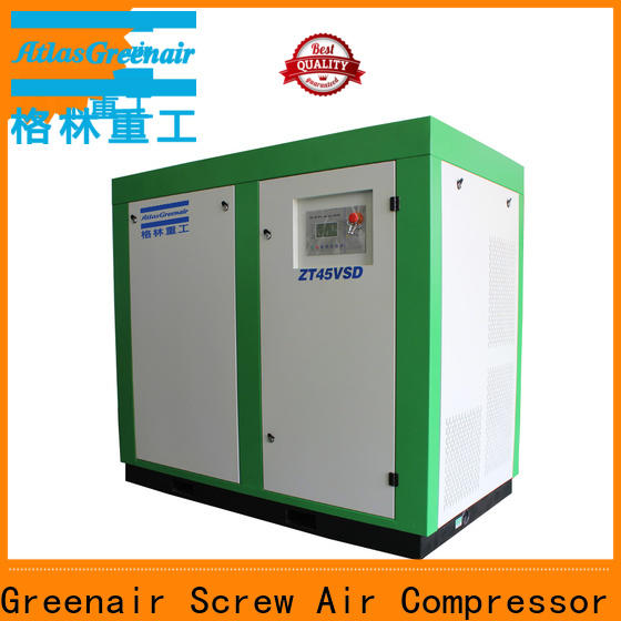 new oil free rotary screw air compressor with high efficient air end for tropical area