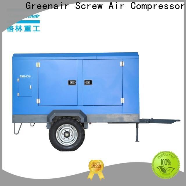 Atlas Greenair Screw Air Compressor customized electric rotary screw air compressor company for tropical area