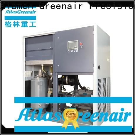 two stage fixed speed rotary screw air compressor company for tropical area