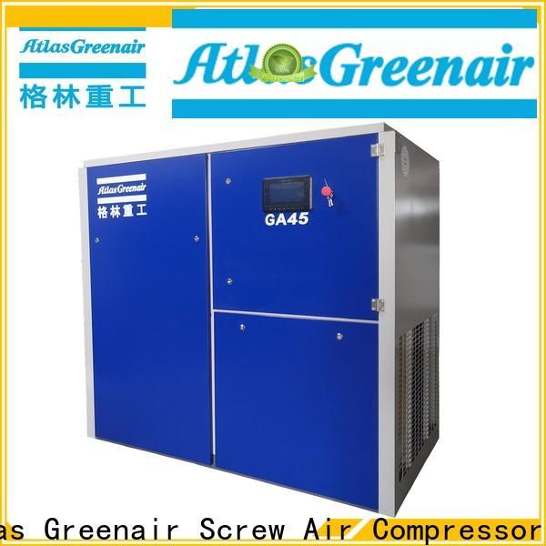 Atlas Greenair Screw Air Compressor fixed speed rotary screw air compressor company for tropical area