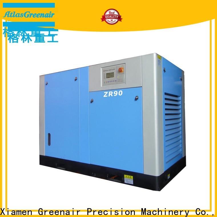 Atlas Greenair Screw Air Compressor top oil free rotary screw air compressor manufacturer for tropical area