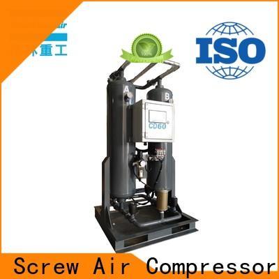 Atlas Greenair Screw Air Compressor desiccant air dryer supplier for a high precision operation