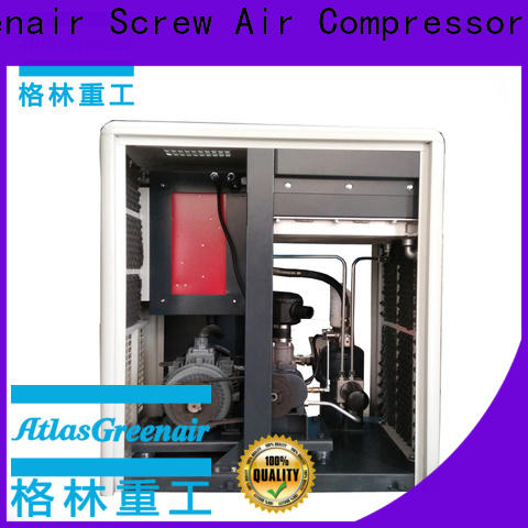 ga fixed speed rotary screw air compressor for busniess for tropical area