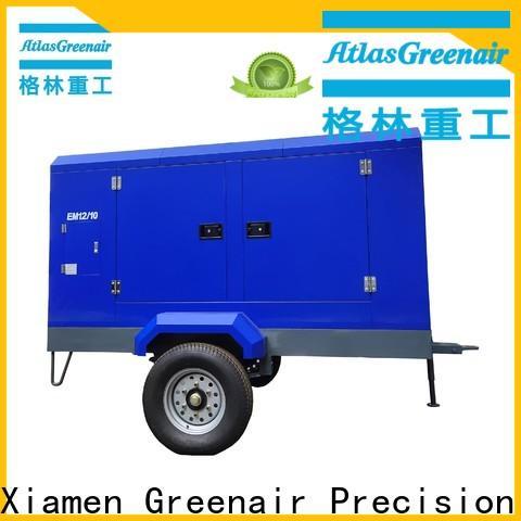 Atlas Greenair Screw Air Compressor portable screw compressor supplier for tropical area