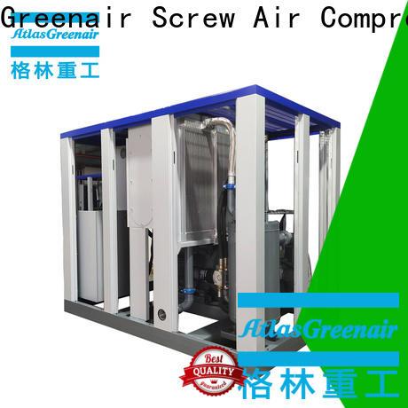 Atlas Greenair Screw Air Compressor two stage vsd compressor atlas copco for busniess for tropical area
