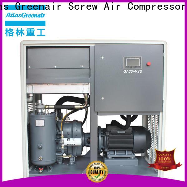 Atlas Greenair Screw Air Compressor top variable speed air compressor factory customization