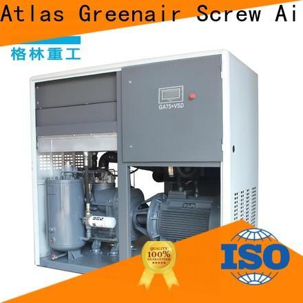 Atlas Greenair Screw Air Compressor new vsd compressor atlas copco with a single air compressor for tropical area