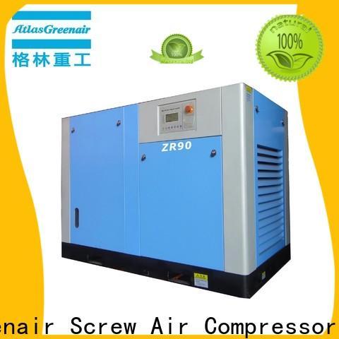Atlas Greenair Screw Air Compressor oil free rotary screw air compressor with high efficient air end for tropical area