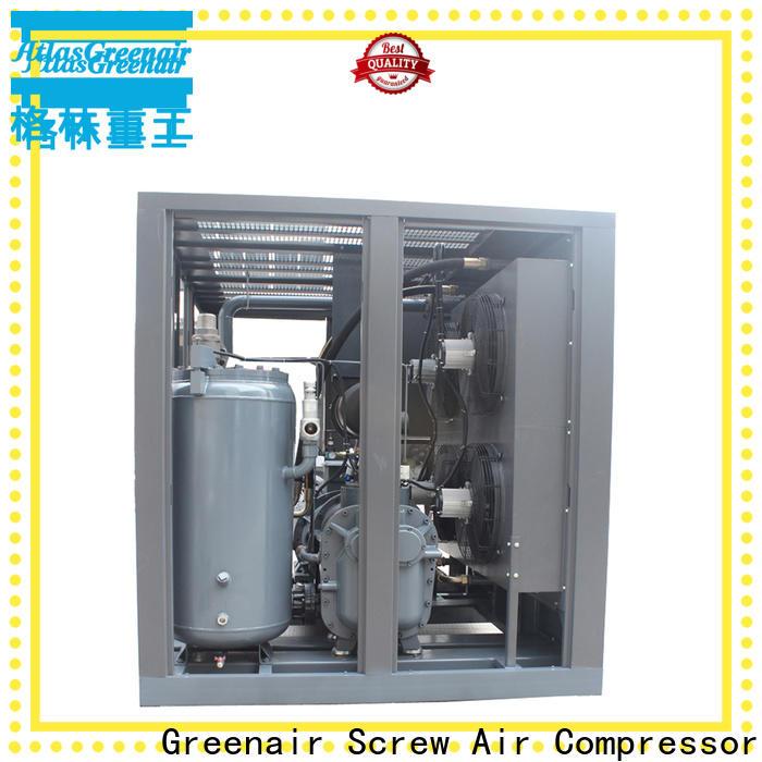Atlas Greenair Screw Air Compressor fixed speed rotary screw air compressor factory for sale