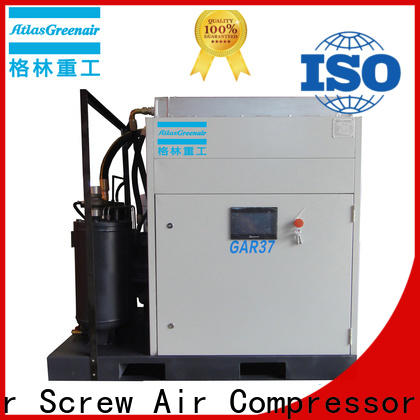 Atlas Greenair Screw Air Compressor wholesale fixed speed rotary screw air compressor with an oil content for sale
