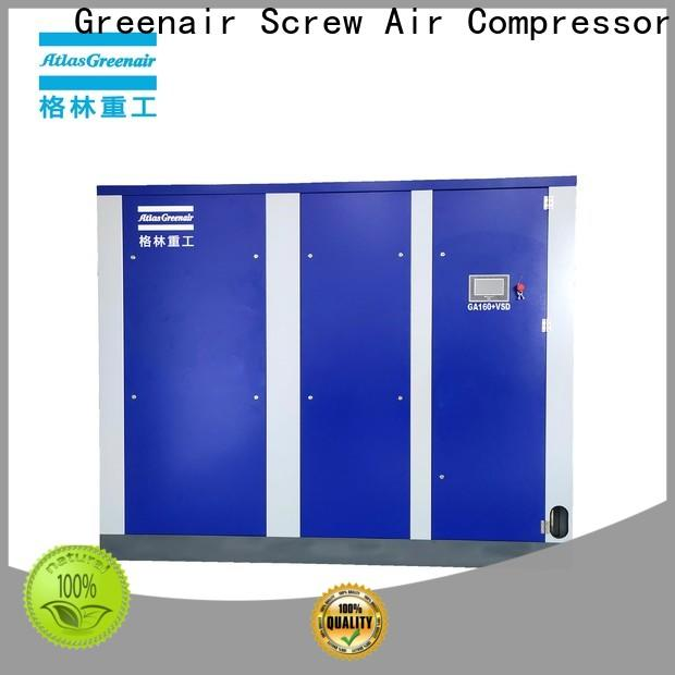 Atlas Greenair Screw Air Compressor new vsd compressor atlas copco with an asynchronous motor for sale